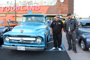 Lowriders at a National City Foodland Taco Tuesday