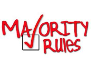 majority rules