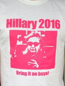 clinton tee shirt