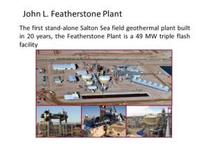 John L. Featherstone Geothermal Plant