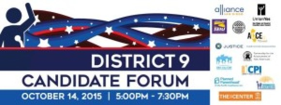 Dist 9 debate logo