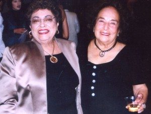 Lilia Lopez and Gracia Molina de Pick
