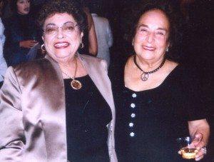 Lilia Lopez and Gracia Molina de Pick