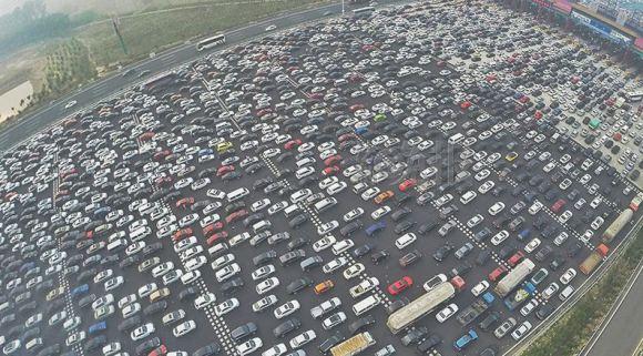 rocket news traffic jam