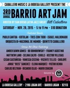 Barrio art jam