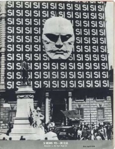 Mussolini Headquarters, 1938