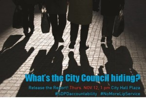 What is the City Council hiding