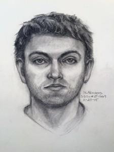 Police artist sketch of SDSU hater