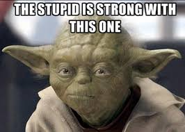 stupid is strong
