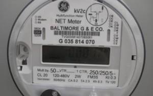 2012 GE net meter