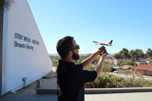 Kevin Linde at the Otay Mesa-Nestor Branch Library
