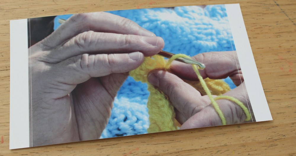 Alzheimer's Patient Knitting
