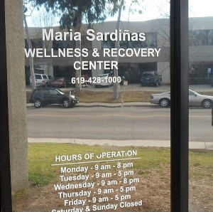 Entryway to Maria Sardiñas Wellness and Recovery Center