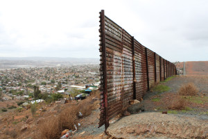 End Of Border Wall In Otay Mesa
