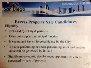 Excess Property Sales Candidates Eligibility Power Point
