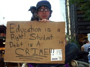 student debt is a crime