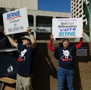 Bernie rally 1