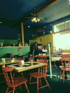 Interior view of Jimmy Carter's Cafe