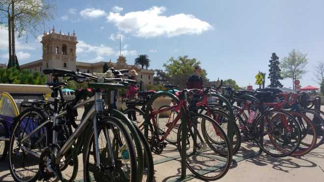 Plaza de Panama bike racks
