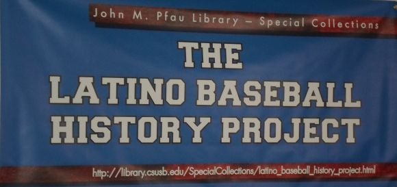 Banner for The Latino Baseball History Project