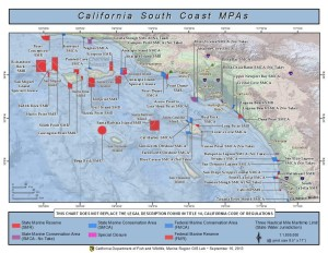 Map of South Coast Marine Protected Areas