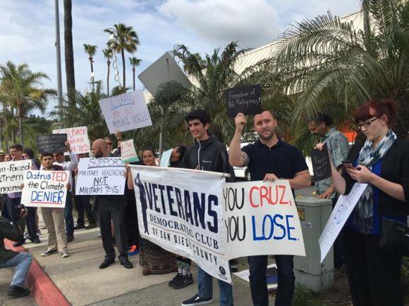 Democrats against cruz