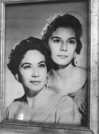 Norma and her mother Angelina