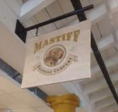 Liberty Market Mastiff sign