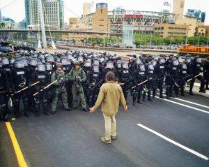 San Diegans Condemn Militarization of Barrio Logan by Mayor Faulconer and Chief Zimmerman