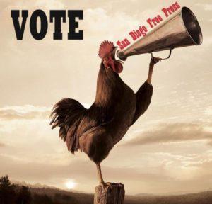 crowing the votea