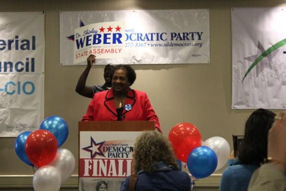 ShirleyWeber Celebrates Results