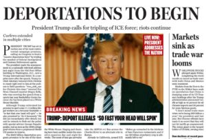 The Boston Globe's take on a potential Trump administration