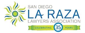 San Diego La Raza Lawyers Association logo