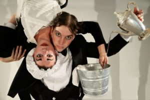 "San Diego International Fringe Festival promo still for ""Bella Culpa"" by A Little BIt Off"