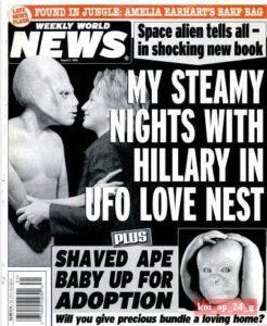 clinton alien