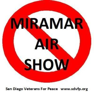 San Diego Veterans to Protest Miramar Air Show