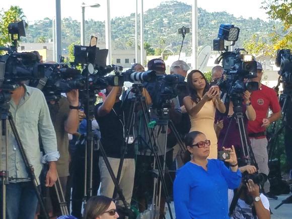 The assembled media