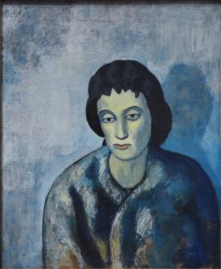 Woman With Bangs By Pablo Picasso suicidal