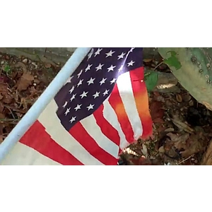 Geo-Poetic Spaces: The American Flag