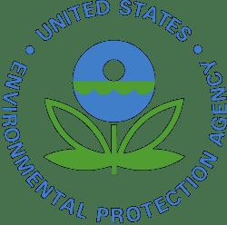 Logo of the US Environmental Protection Agency (EPA).