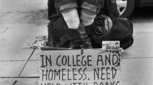 Hungry and Homeless in College