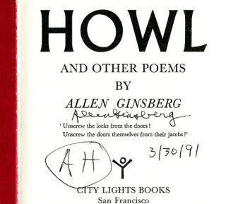 Howl Allen Ginsberg ACLU
