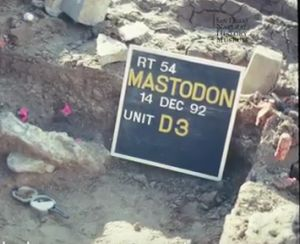 The Science of San Diego Mastodon Bones, Time and Human Habitation
