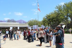 Southwestern Community College Sexual Assault Protest