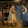 Cast members of 'The Revolutionists' on stage