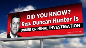 Just How Safe is Congressman Duncan Hunter's Job?