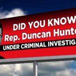 Just How Safe is Congressman Duncan Hunter's Job?