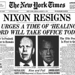 Thoughts on the 43rd Anniversary of Richard Nixon's Resignation
