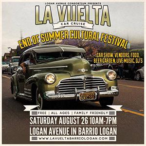 La Vuelta Car Cruise End of Summer Cultural Festival to Highlight El Barrio