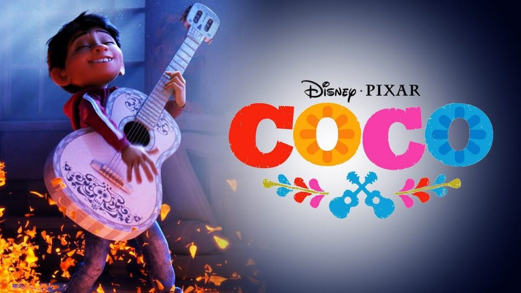 'Coco' movie poster: boy playing guitar